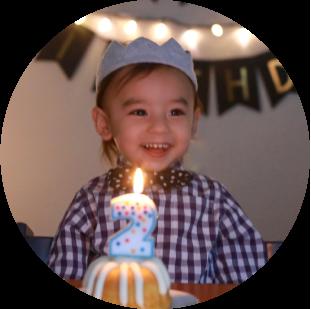 誕生日の子